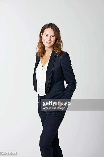Journalist and writer Elizabeth Day is photographed for ES magazine on May 15, 2015 in London, England.