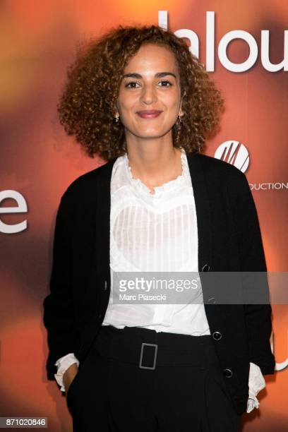 Journalist and writer Leila Slimani attends the 'Jalouse' Premiere at Cinema Pathe Beaugrenelle on November 6 2017 in Paris France