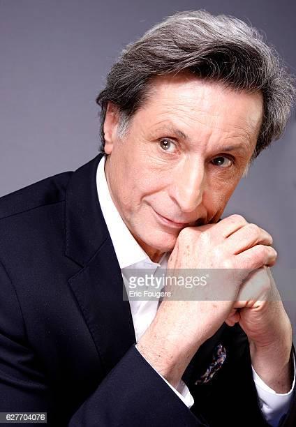 Journalist and writer Patrick de Carolis Photographed in PARIS