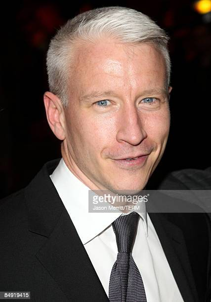 Journalist Anderson Cooper attends the Children Mending Hearts Gala held at the House Of Blues on February 18 2009 in Hollywood California