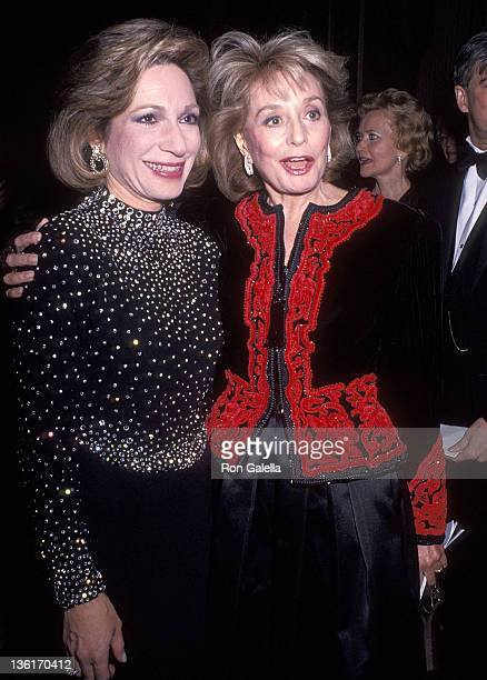 TV journalist Andrea Mitchell and TV journalist Barbara Walters attend the United Cerebral Palsy of New York City's 36th Annual Humanitarian Award...