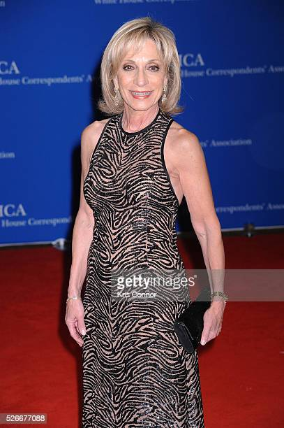 Journalist Andrea Mitchell attends the 102nd White House Correspondents' Association Dinner on April 30 2016 in Washington DC