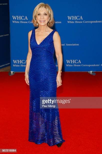 Journalist Andrea Mitchell attends the 2018 White House Correspondents' Dinner at Washington Hilton on April 28 2018 in Washington DC