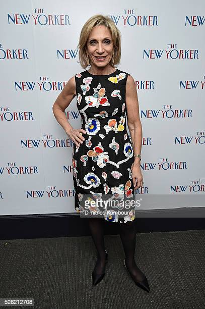 Journalist Andrea Mitchell attends The New Yorker's annual party kicking off The White House Correspondents' Association Dinner Weekend hosted by...