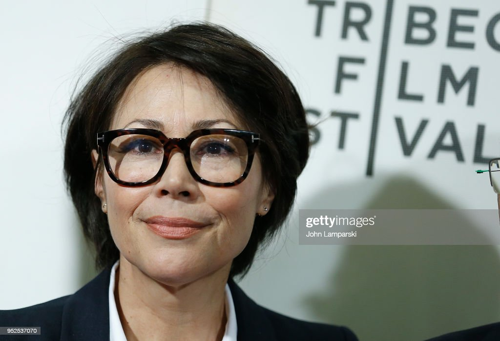 Journalist Ann Curry attends 2018 Tribeca Film Festival closing night screening of 'The Fourth Estate' at BMCC Tribeca PAC on April 28, 2018 in New York City.