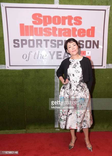 Journalist Ann Curry attends the 2019 Sports Illustrated Sportsperson Of The Year at The Ziegfeld Ballroom on December 09 2019 in New York City
