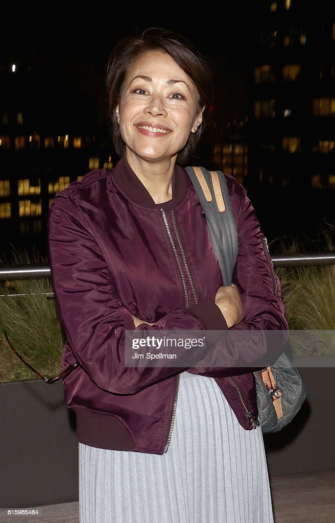 Journalist Ann Curry attends the screening after party of 'The Eagle Huntress' hosted by Sony Pictures Classics and The Cinema Society at Jimmy At The James Hotel on October 20, 2016 in New York City.