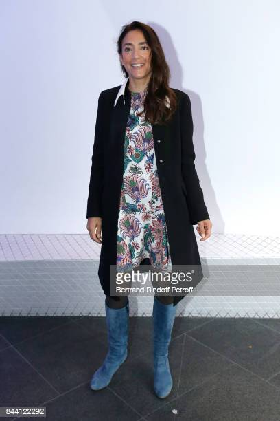 Journalist Anna Cabana attends the BFM TV's Press Conference to announce their TV Schedule for 2017/2018 on September 8 2017 in Paris France