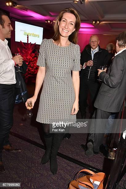 TF1 journalist Anne Claire Coudray attends 'Prix de la Femme d'Influence 2016' Award Ceremony at Hotel Regency Hyatt on December 5 2016 in Paris...