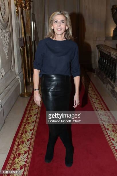 Journalist Anne Fulda attends the Vaincre Le Cancer Benefit Party at Cercle de l'Union Interalliee on November 20 2019 in Paris France