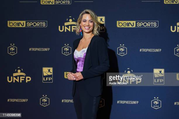 Journalist Anne Laure Bonnet during the UNFP Trophy 2019 at Studio Gabriel on May 19 2019 in Paris France