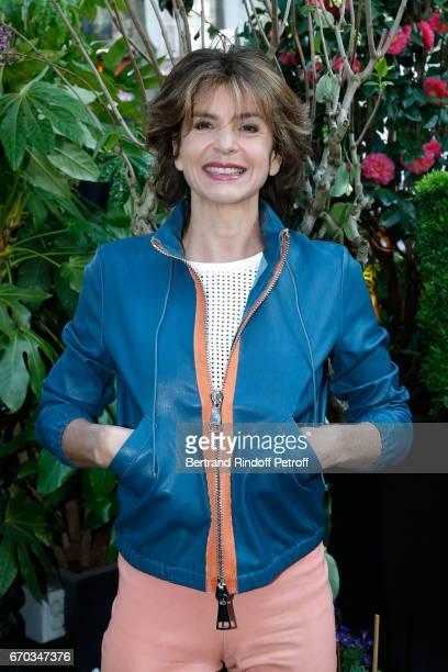 Journalist Anne Nivat attends La Closerie des Lilas Literary Awards 2017 at La Closerie des Lilas on April 19 2017 in Paris France