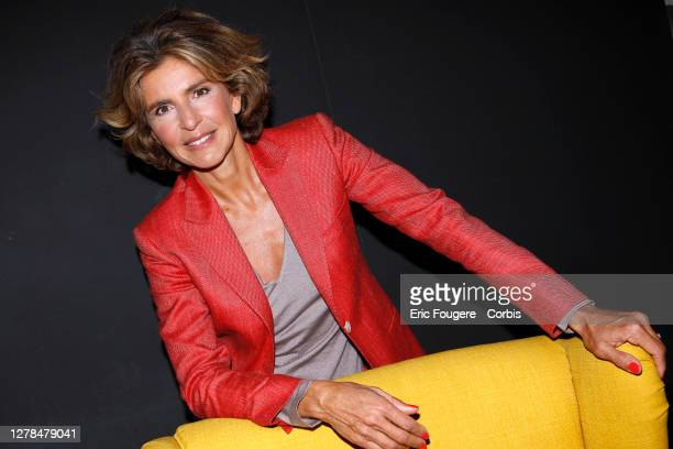 Journalist Anne Nivat poses during a portrait session in Paris France on