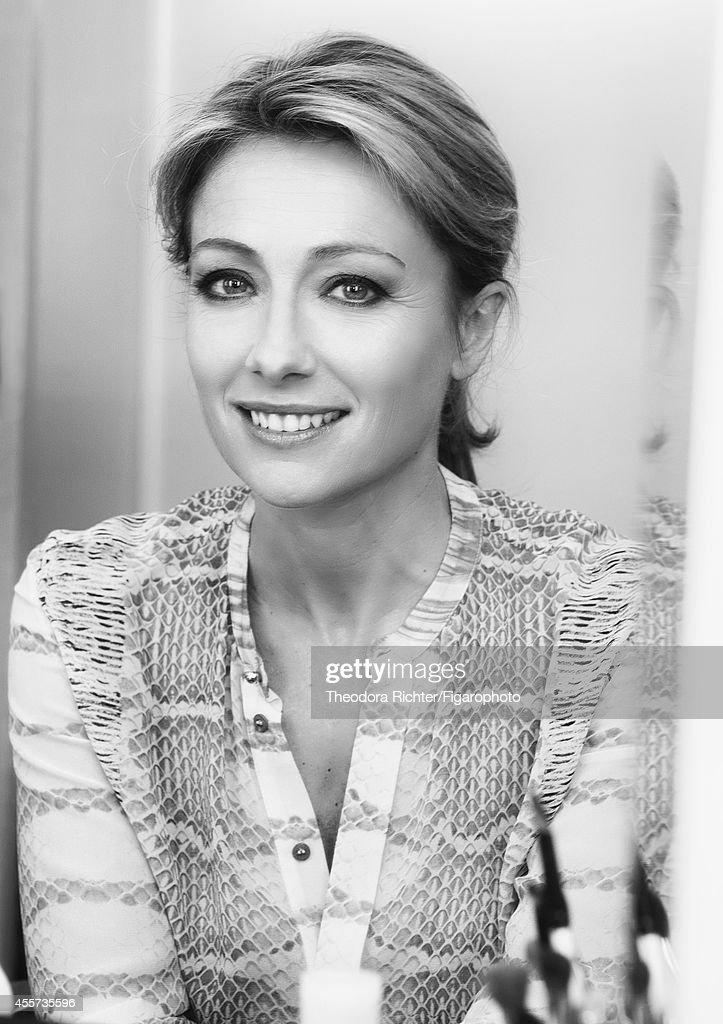 Anne-Sophie Lapix, Madame Figaro, September 5, 2014