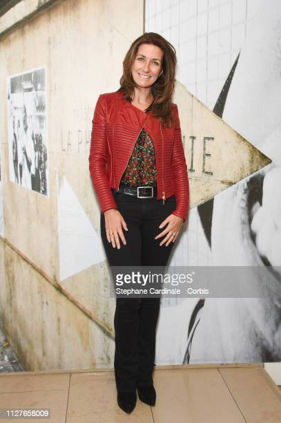Journalist AnneClaire Coudray attends The Aspern Papers Premiere at Maison Europeenne de la Photographie on February 05 2019 in Paris France
