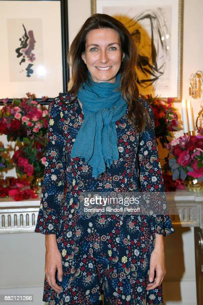 Journalist AnneClaire Coudray attends the Charity Gala to Benefit the 'Princess Diya Kumari of Jaipur' Foundation Held at Plaza Athenee Hotel on...