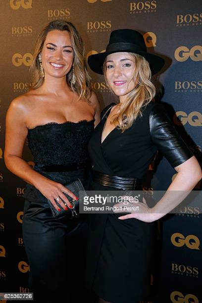 Journalist AnneLaure Bonnet and Aurore Vain the GQ Men of the Year Awards 2016 Photocall at Musee d'Orsay on November 23 2016 in Paris France
