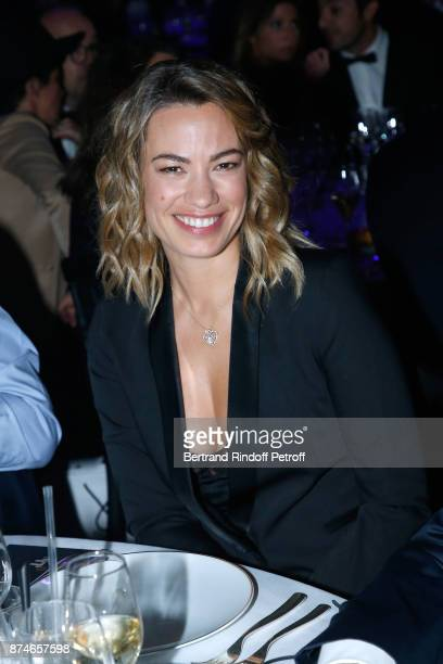 Journalist AnneLaure Bonnet attends the GQ Men of the Year Awards 2017 at Le Trianon on November 15 2017 in Paris France
