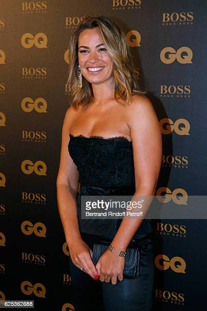 Journalist AnneLaure Bonnet attends the GQ Men of the Year Awards 2016 Photocall at Musee d'Orsay on November 23 2016 in Paris France