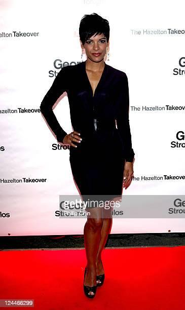 Journalist Anne-Marie Mediwake attends The Hazelton Takeover at The Hazelton Hotel during the 2011 Toronto International Film Festival on September...
