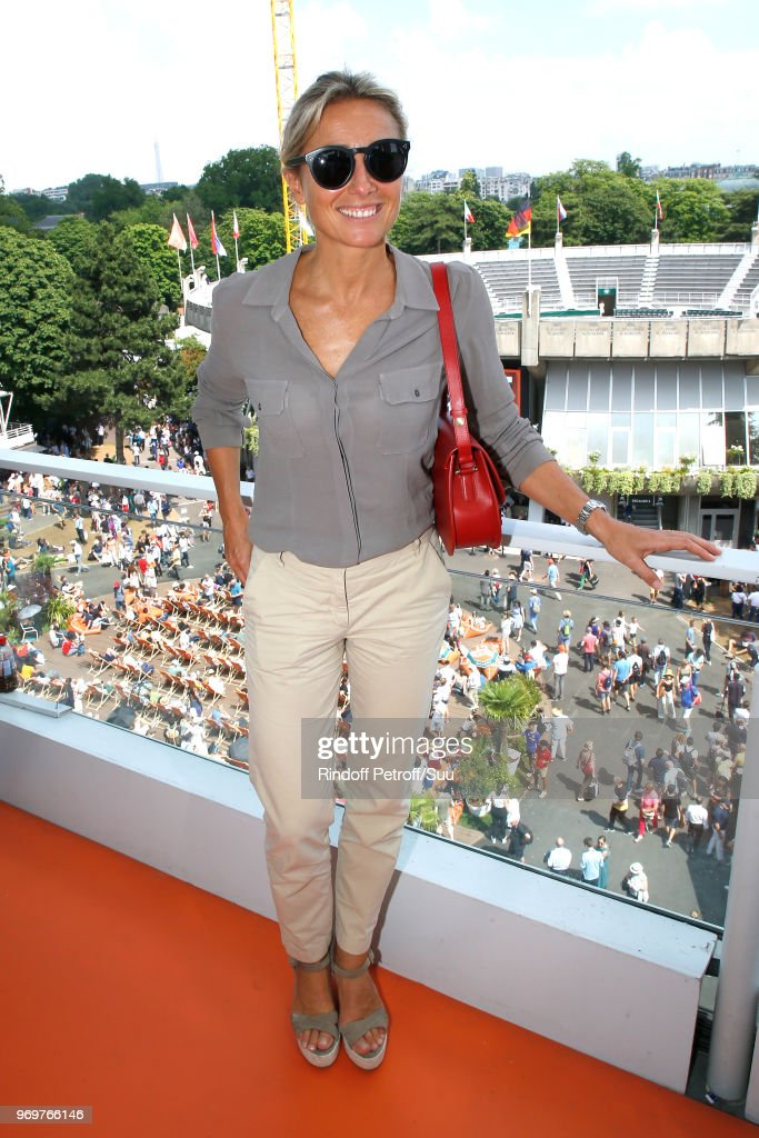 Celebrities At 2018 French Open - Day Thirteen : News Photo