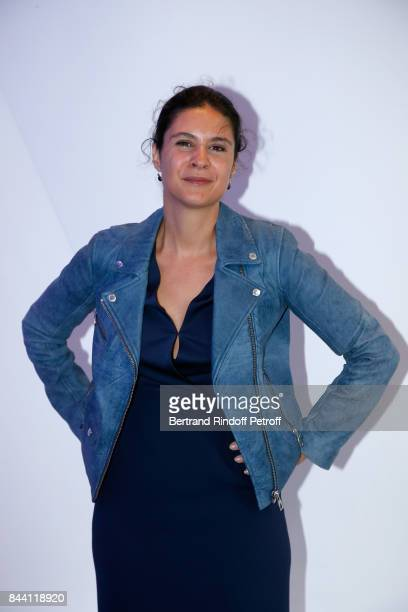 Journalist Apolline de Malherbe attends the BFM TV's Press Conference to announce their TV Schedule for 2017/2018 on September 8 2017 in Paris France