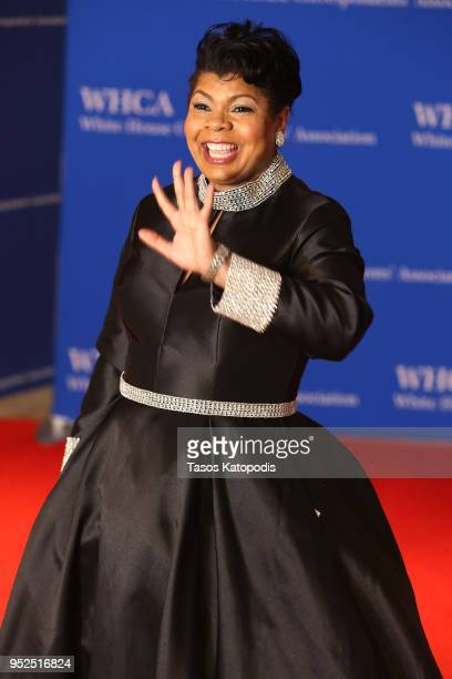 Journalist April Ryan attends the 2018 White House Correspondents' Dinner at Washington Hilton on April 28 2018 in Washington DC