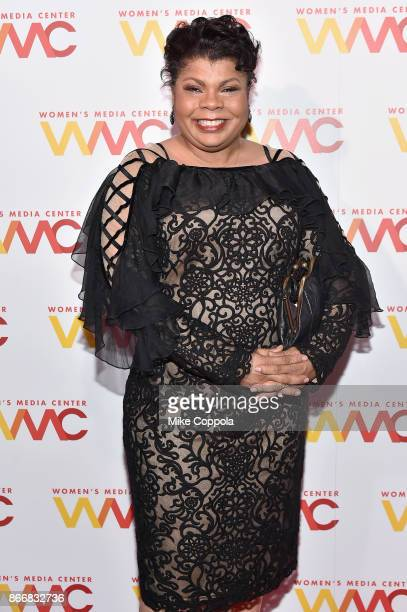 Journalist April Ryan attends the Women's Media Center 2017 Women's Media Awards at Capitale on October 26 2017 in New York City
