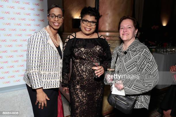 Journalist April Ryan attends the Women's Media Center 2017 Women's Media Awards at Capitale on October 26 2017 in New York City