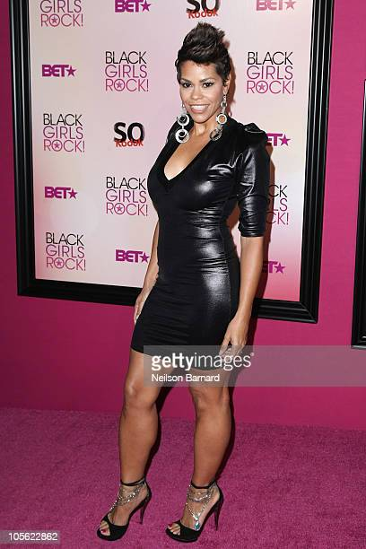 Journalist April Woodard attends 5th Annual Black Girls Rock Awards at the Paradise Theater on October 16 2010 in the Bronx borough of New York City