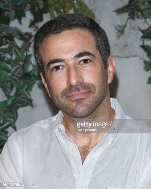 Journalist Ari Melber attends the party for Ava DuVernay and 'Queen Sugar' hosted by OWN at Laduree Soho on May 20 2018 in New York City