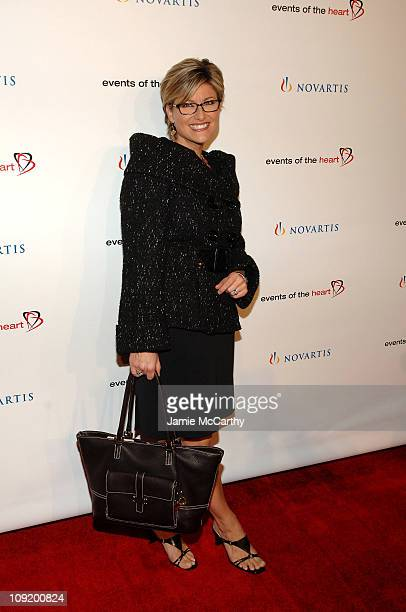 Journalist Ashley Banfield arrives to the Events of The Heart 1st Annual Benefit Gala Heart On at Jazz at Lincoln Center on October 1 2007 in New...