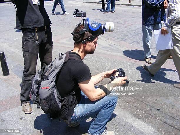 CONTENT] Journalist at Taksim Square June 2013 Gezi Park Protests during Gas attacks on civilians