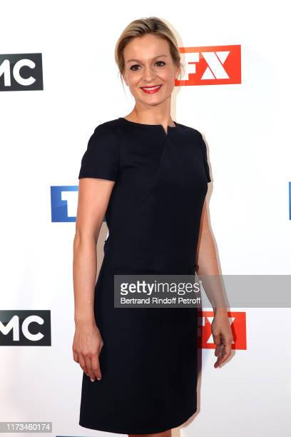 Journalist Audrey CrespoMara attends the Groupe TF1 Photocall at Palais de Tokyo on September 09 2019 in Paris France