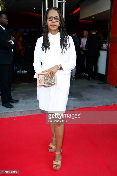 Journalist Audrey Pulvar attends Closing Ceremony during 7th Champs Elysees Film Festival at Publicis Cinema on June 19 2018 in Paris France