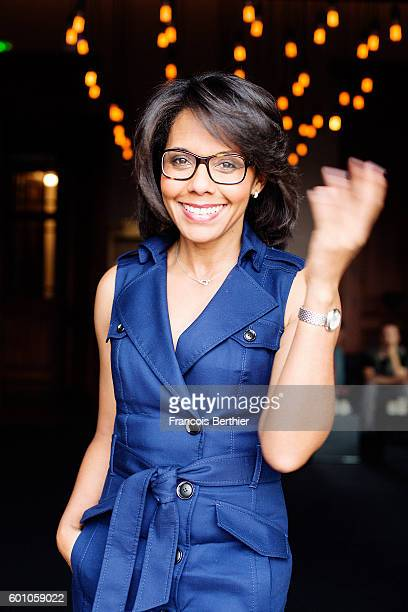 Journalist Audrey Pulvar is photographed for Self Assignment on September 6 2016 in Deauville France