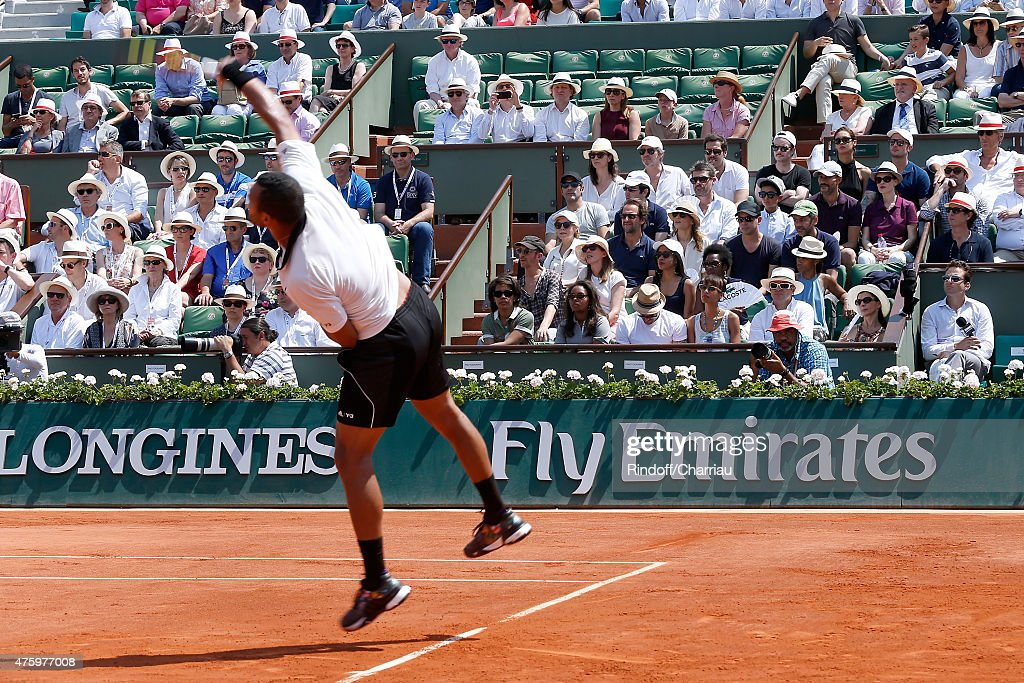Celebrities At French Open 2015  - Day Thirteen