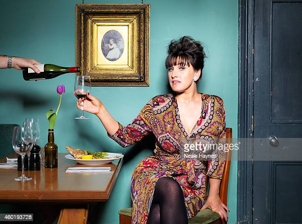 Journalist author and broadcaster Grace Dent is photographed for ES magazine on June 3 2014 in London England