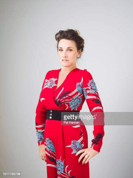 Journalist author and broadcaster Grace Dent is photographed for the Observer on May 15 2018 in London England