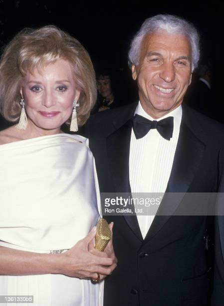 """Journalist Barbara Walters and entertainment executive Merv Adelson attend """"The Ten Treasures"""" Opening Night Exhibition Gala to Benefit the New York..."""