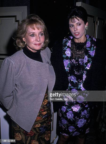 TV journalist Barbara Walters and socialite Gayfryd Steinberg attend the Second Annual Literacy Volunteers of New York City's Dinner/Dance Gala to...