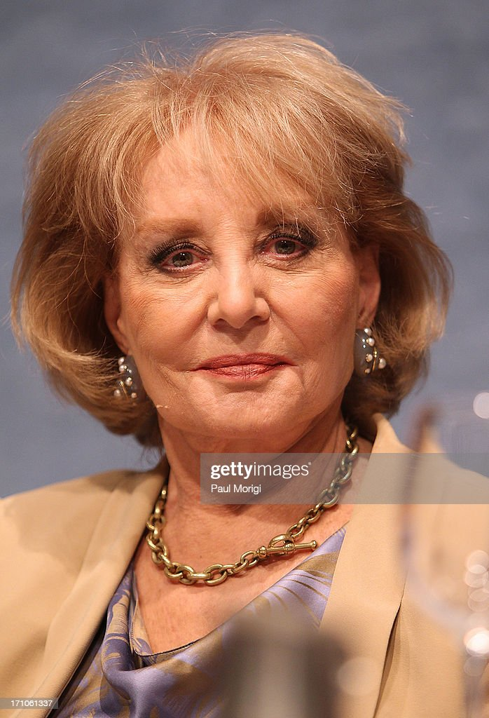 Journalist Barbara Walters attends the American News Women's Club 2013 Gala Award luncheon at The National Press Club on June 21, 2013 in Washington, DC.
