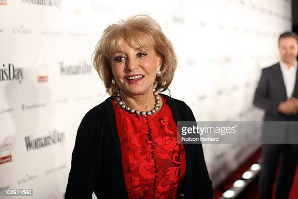 Journalist Barbara Walters attends the Woman's Day 8th Annual Red Dress Awards at Jazz at Lincoln Center on February 8 2011 in New York City