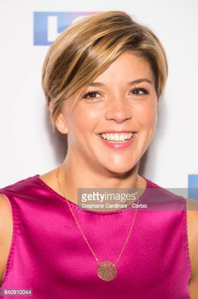 Journalist Benedicte Le Chatelier attends the LCI Press Conference to Announce their TV Schedule for 2017/2018 on August 30 2017 in Paris France