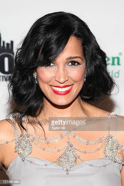 """Journalist Birmania Rios attends the """"America"""" premiere during the 12th annual NY International Latino film festival at Clearview Cinemas Chelsea on..."""