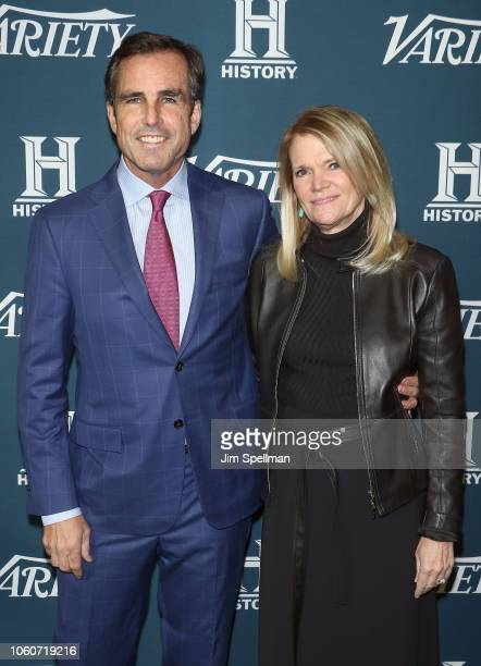 Journalist Bob Woodruff and reporter Martha Raddatz attend the 2nd Annual Variety Salute to Service at Cipriani Downtown on November 12 2018 in New...