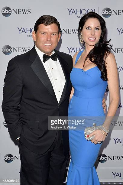 Journalist Bret Baier and Amy Baier attend the Yahoo News/ABCNews PreWhite House Correspondents' dinner reception preparty at Washington Hilton on...