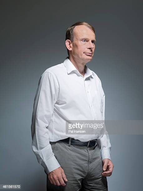 Journalist broadcaster and writer Andrew Marr is photographed for Event magazine on July 24 2014 in London England