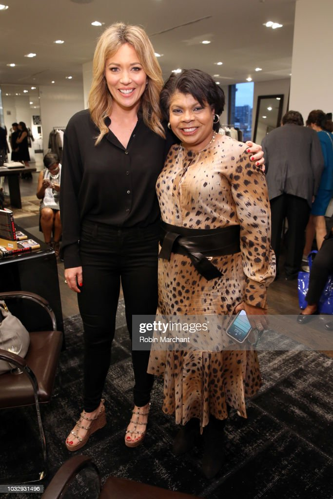 "Lafayette 148 New York x April Ryan ""Under Fire"" Book Launch : News Photo"