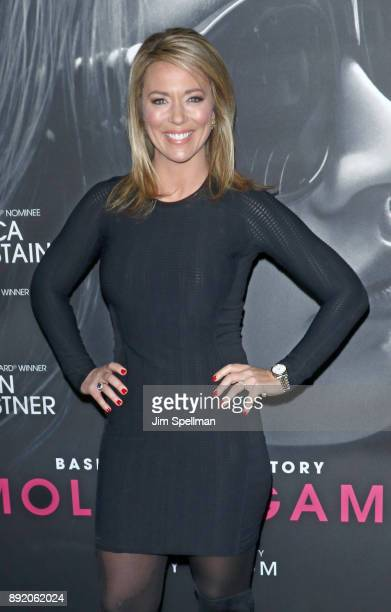 Journalist Brooke Baldwin attends the Molly's Game New York premiere at AMC Loews Lincoln Square on December 13 2017 in New York City